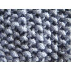 Bob de orez tricotat drept